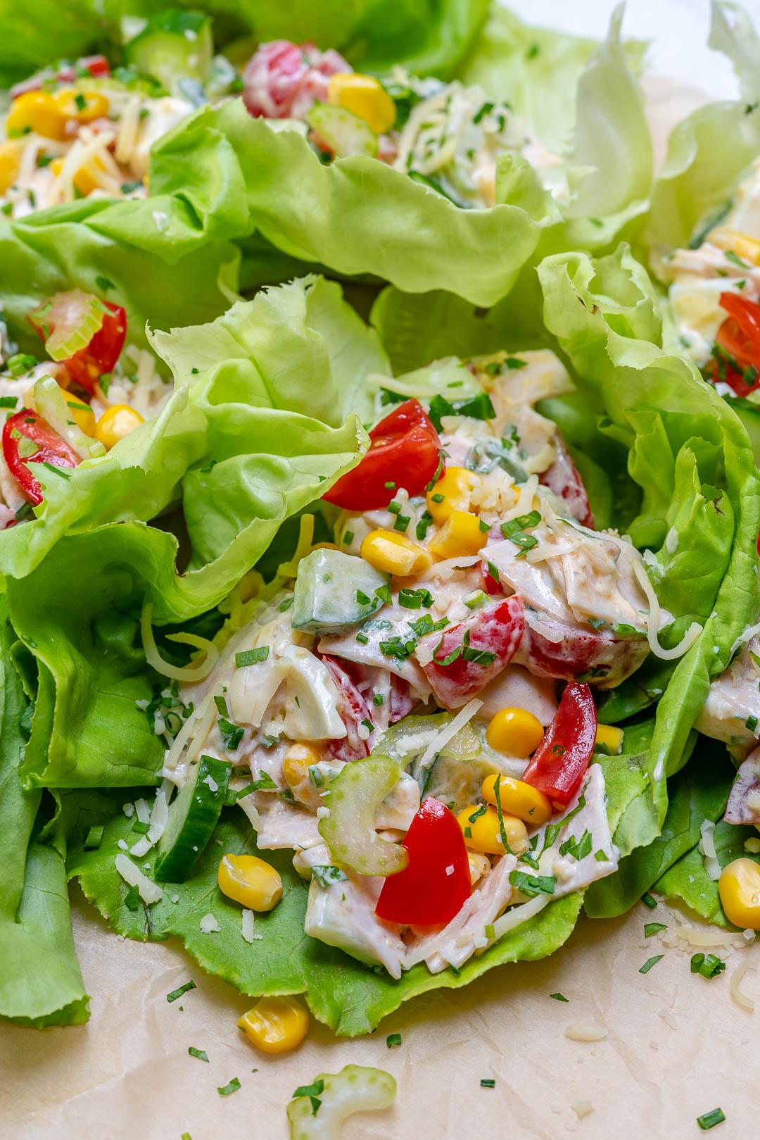 Turkey Salad Clean Food Recipe