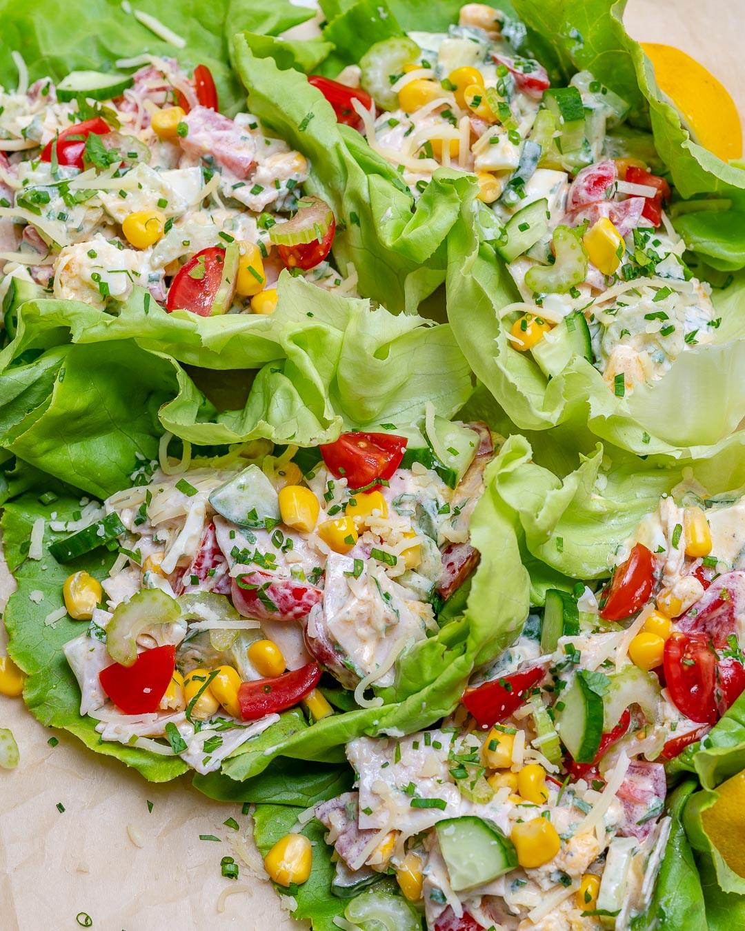 Easy Dinner Recipes Lettuce Wraps