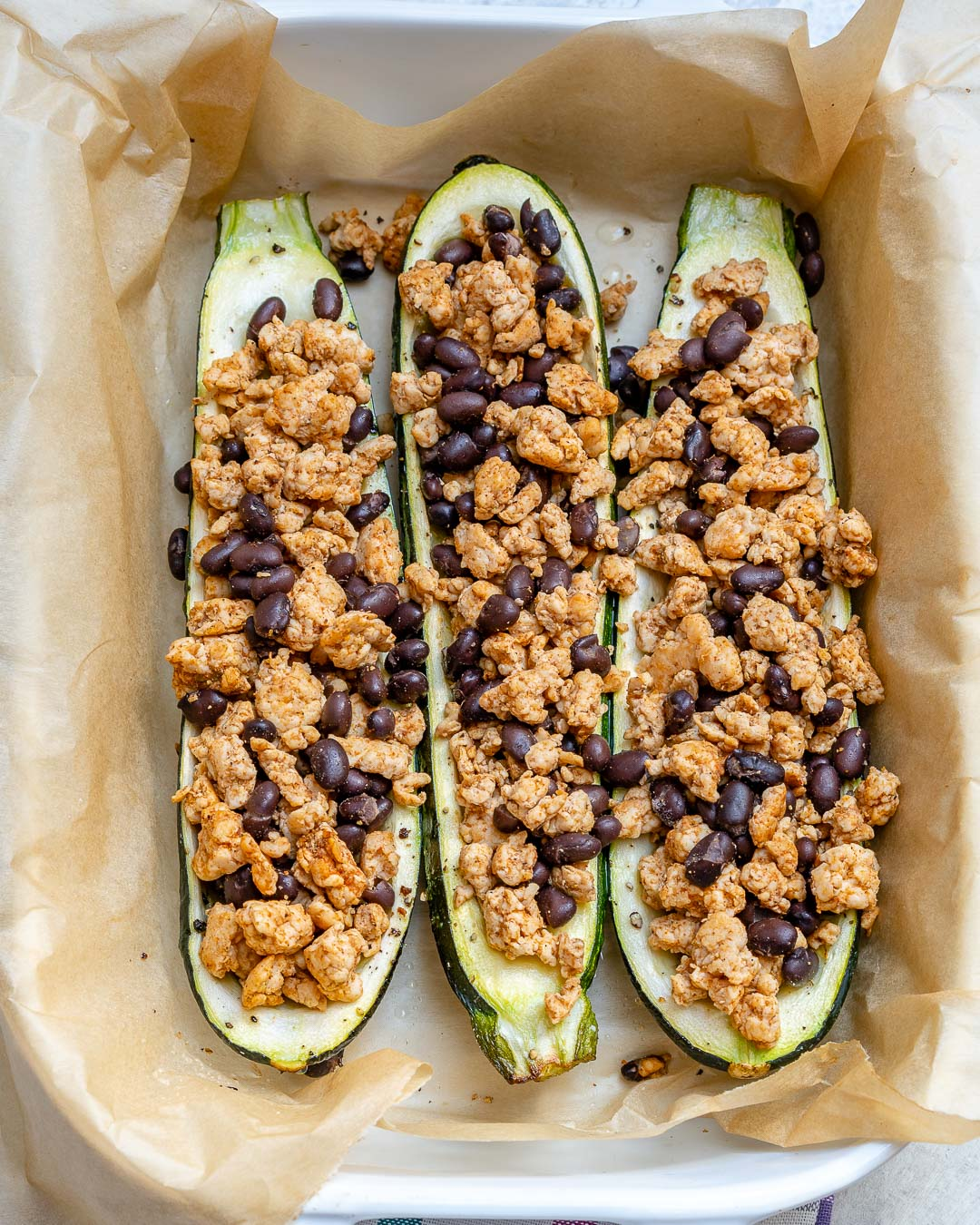 Taco Zucchini Boats Easy Healthy Dinner Recipes