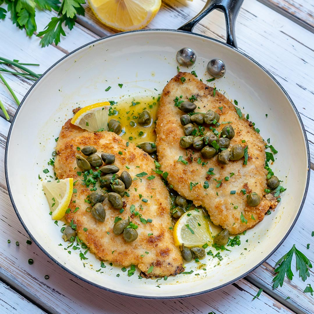 Clean Eating Easy Chicken Piccata