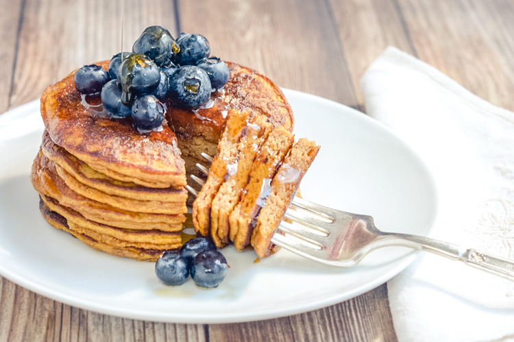 Clean Eats Perfect Pumpkin Pancakes