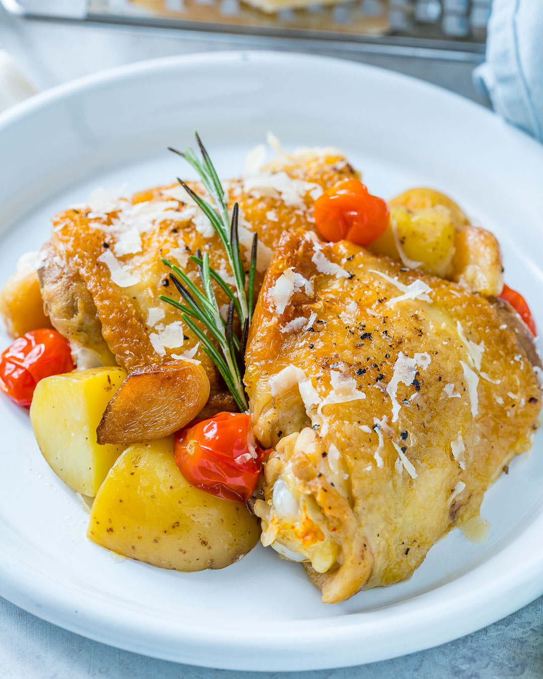 Slow Cooker Garlic Parmesan Chicken Recipe