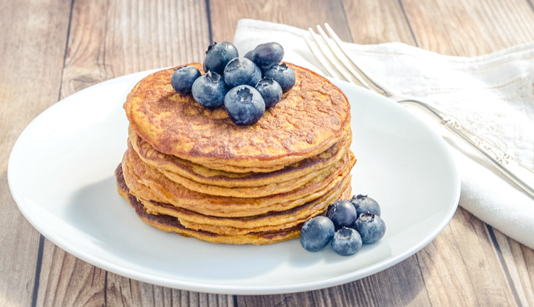 Clean Perfect Pumpkin Pancakes Recipe