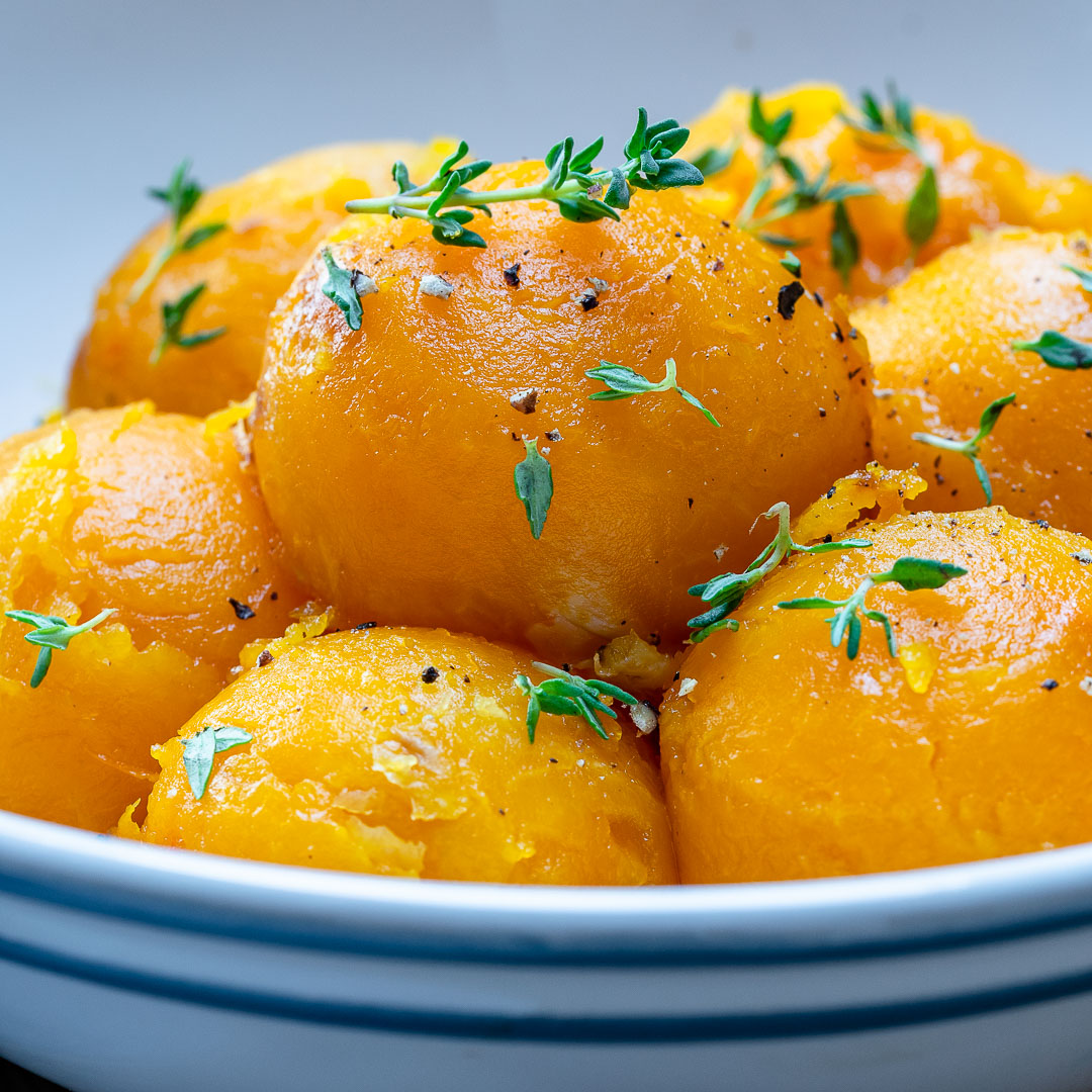 Clean Roasted Butternut Squash Scoops Recipe