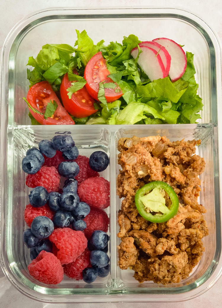 Quick Turkey Taco Salads Healthy Lunch Ideas
