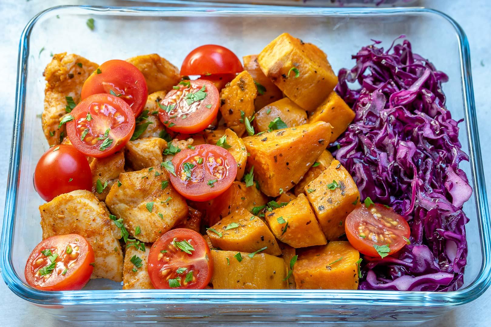 Roasted Chicken Sweet Potato Dinner Ideas