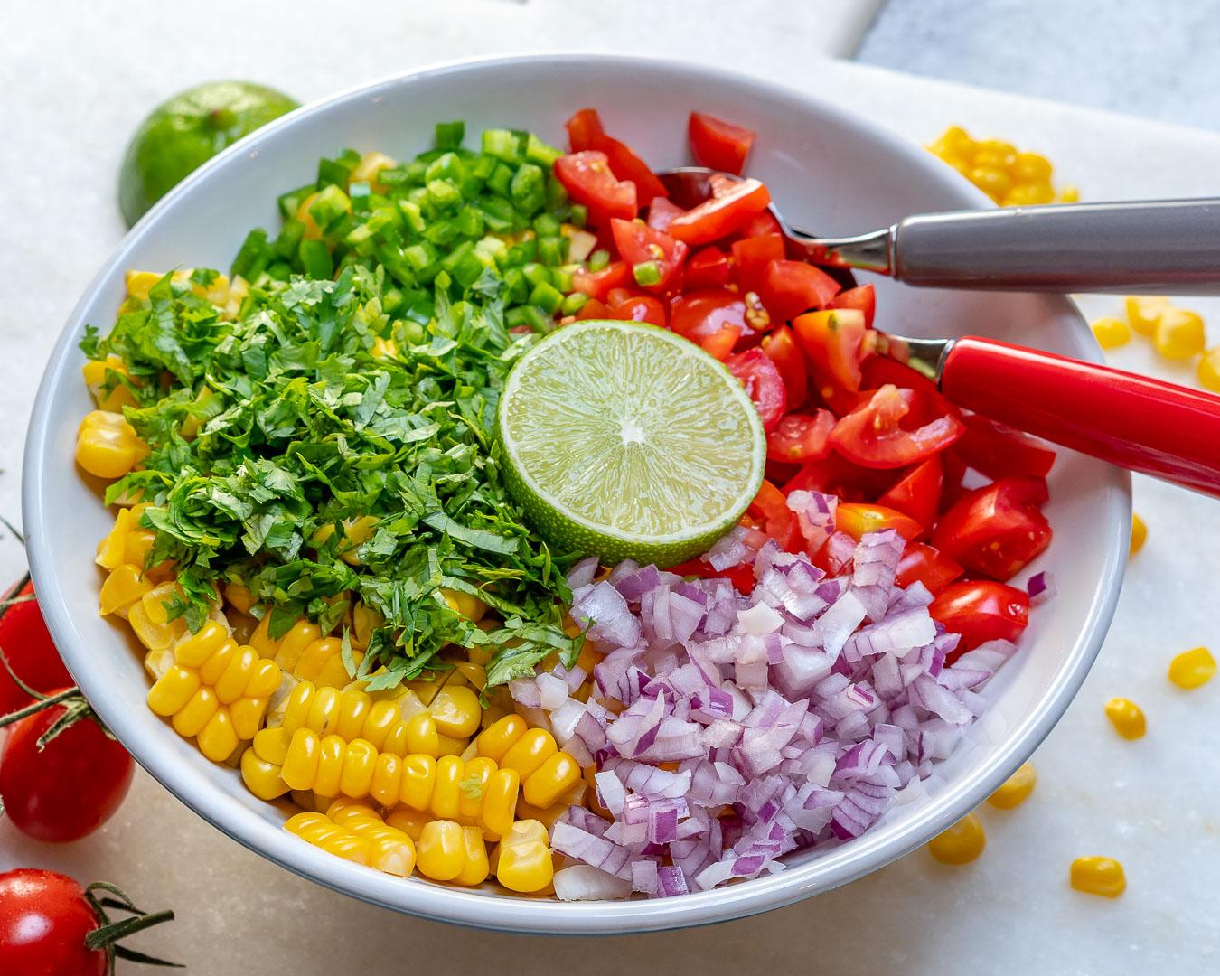 Healthy Corn Salsa Fresca Sides