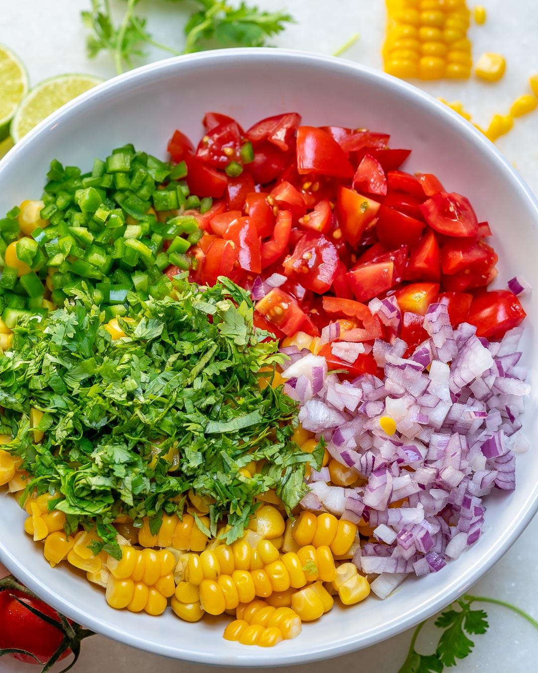 Corn Salsa Side Dish