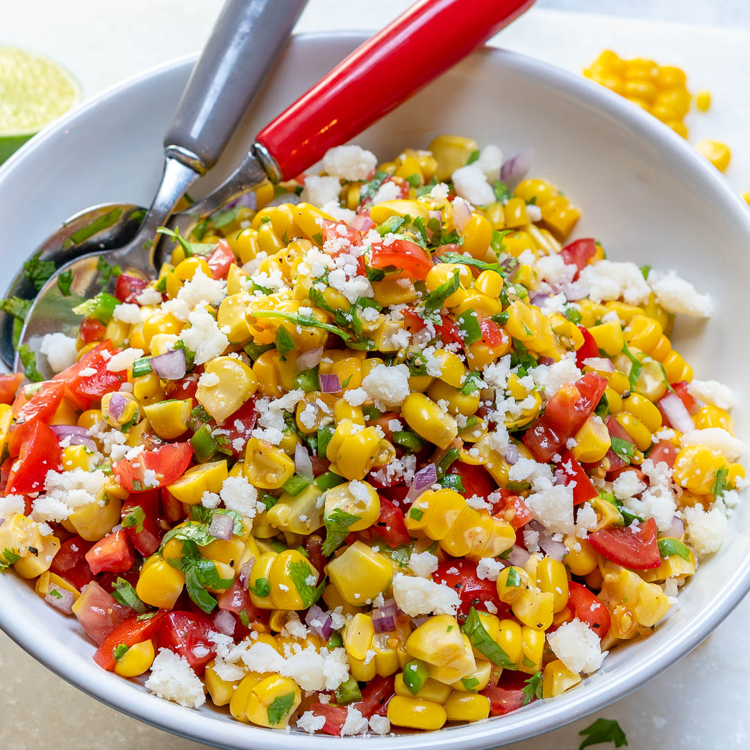 CleanFoodCrush Corn Salsa Fresca