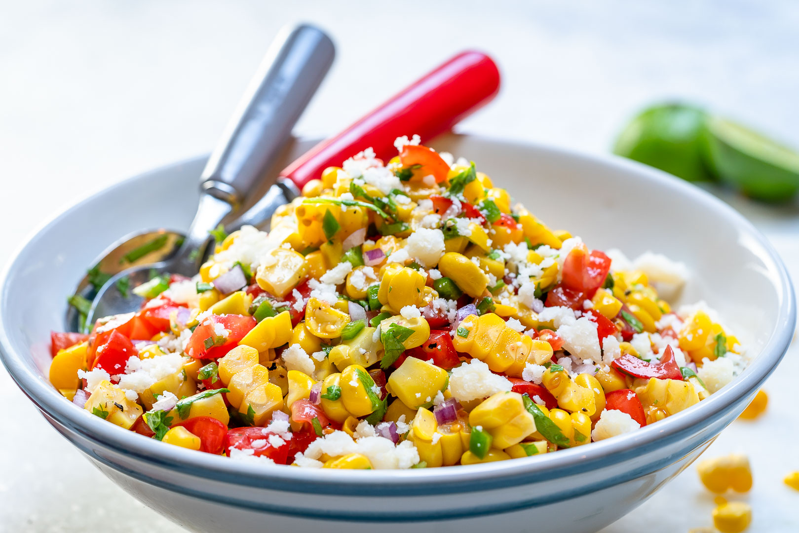 Corn Salsa Fresca Clean Eating Recipe
