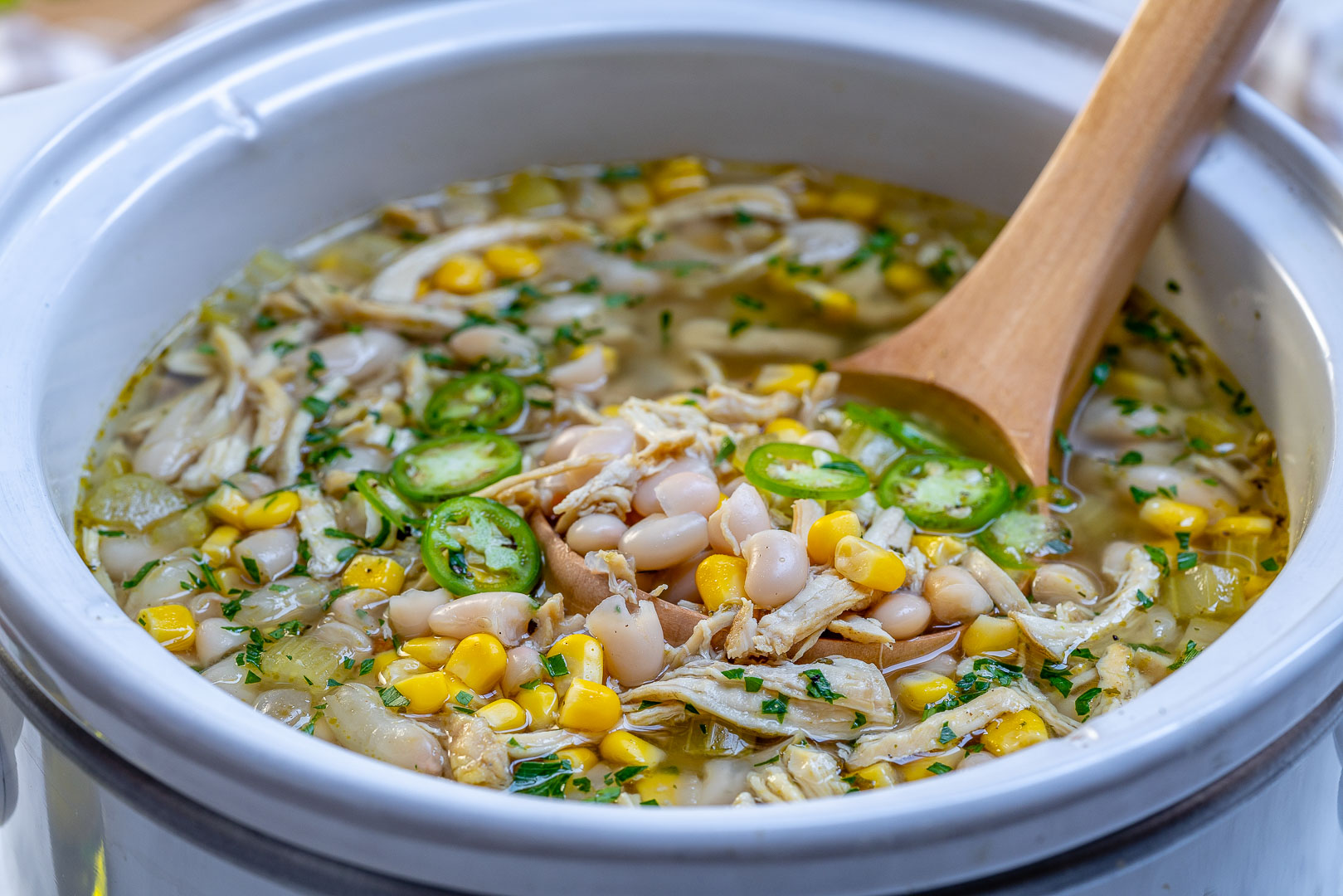 Crock Pot: Instant Pot White Chicken Chili Clean Food