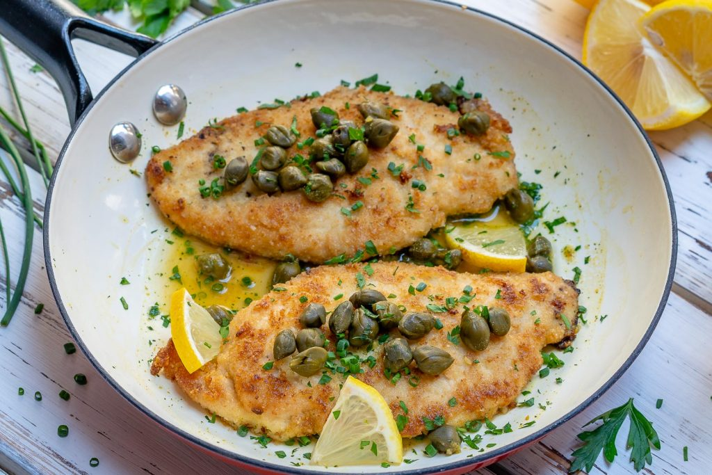 Eat Clean Easy Chicken Piccata