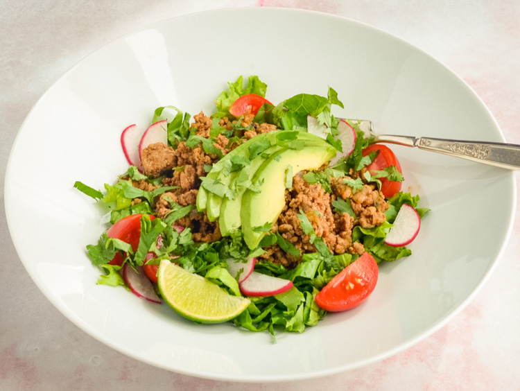 Eat Clean Quick Turkey Taco Salads