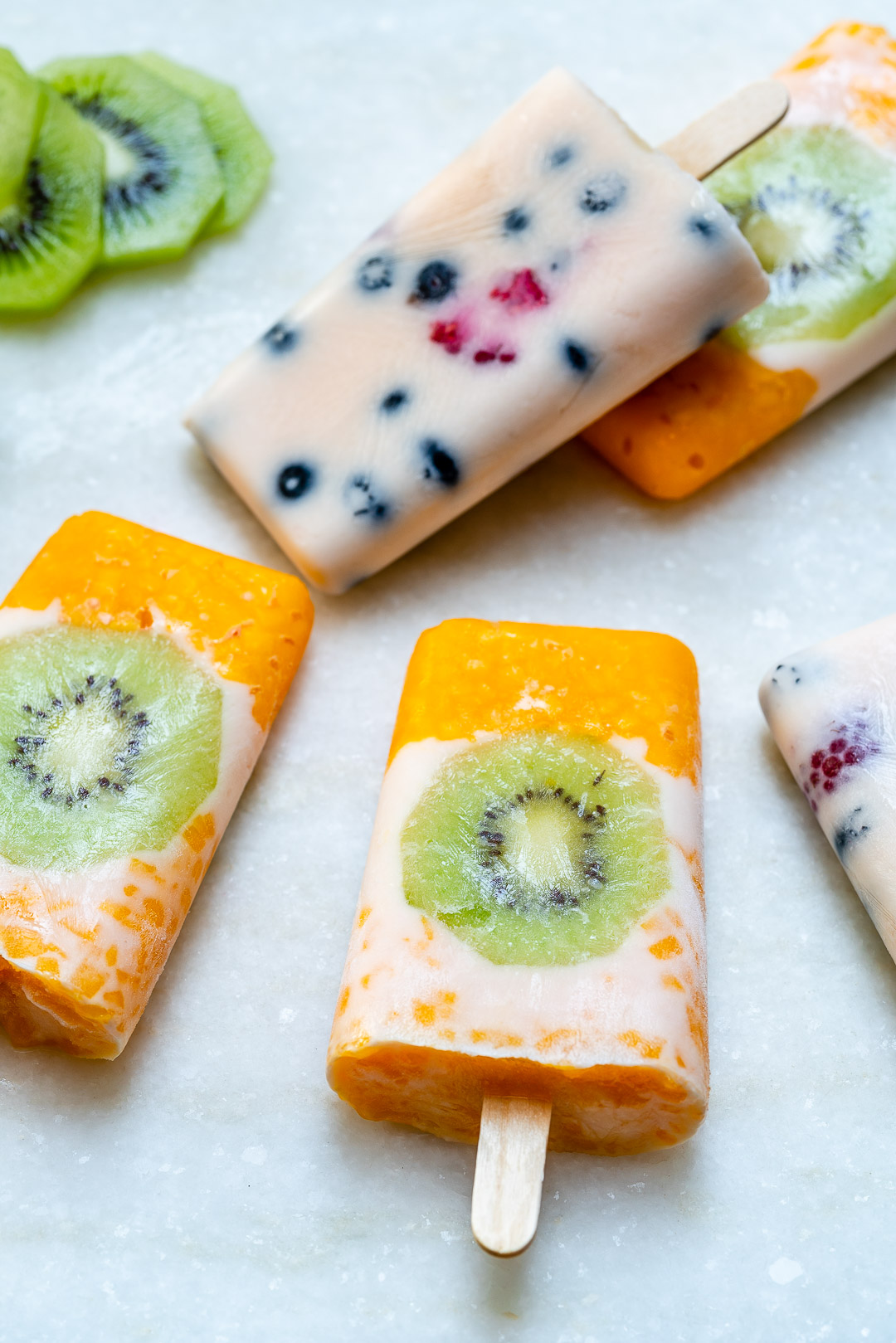 Real Frozen Yogurt Fruit Pops Recipe