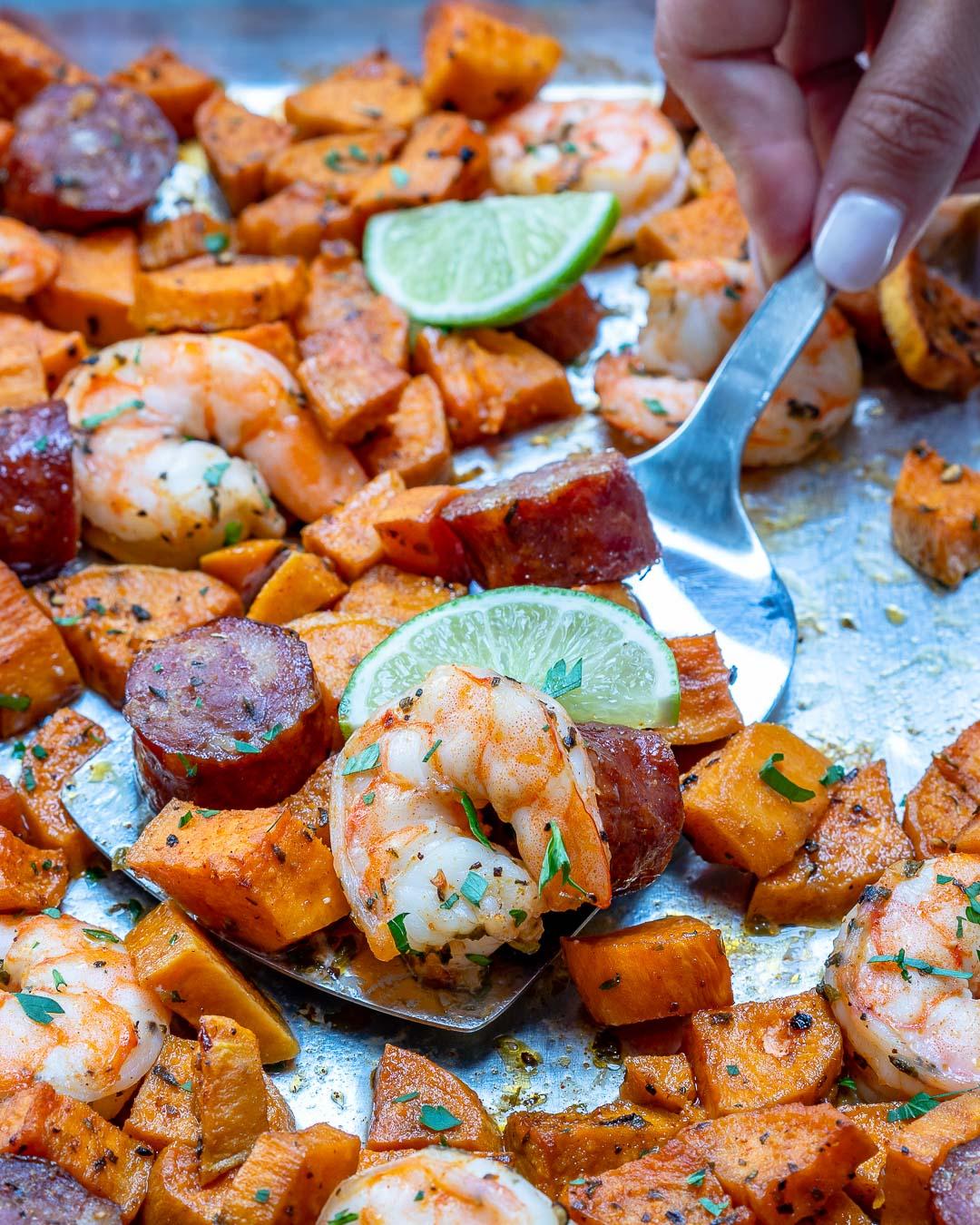 Eat Clean Shrimp Boil homemade Ranch Sauce