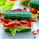 Healthy Cucumber BLT's Recipe