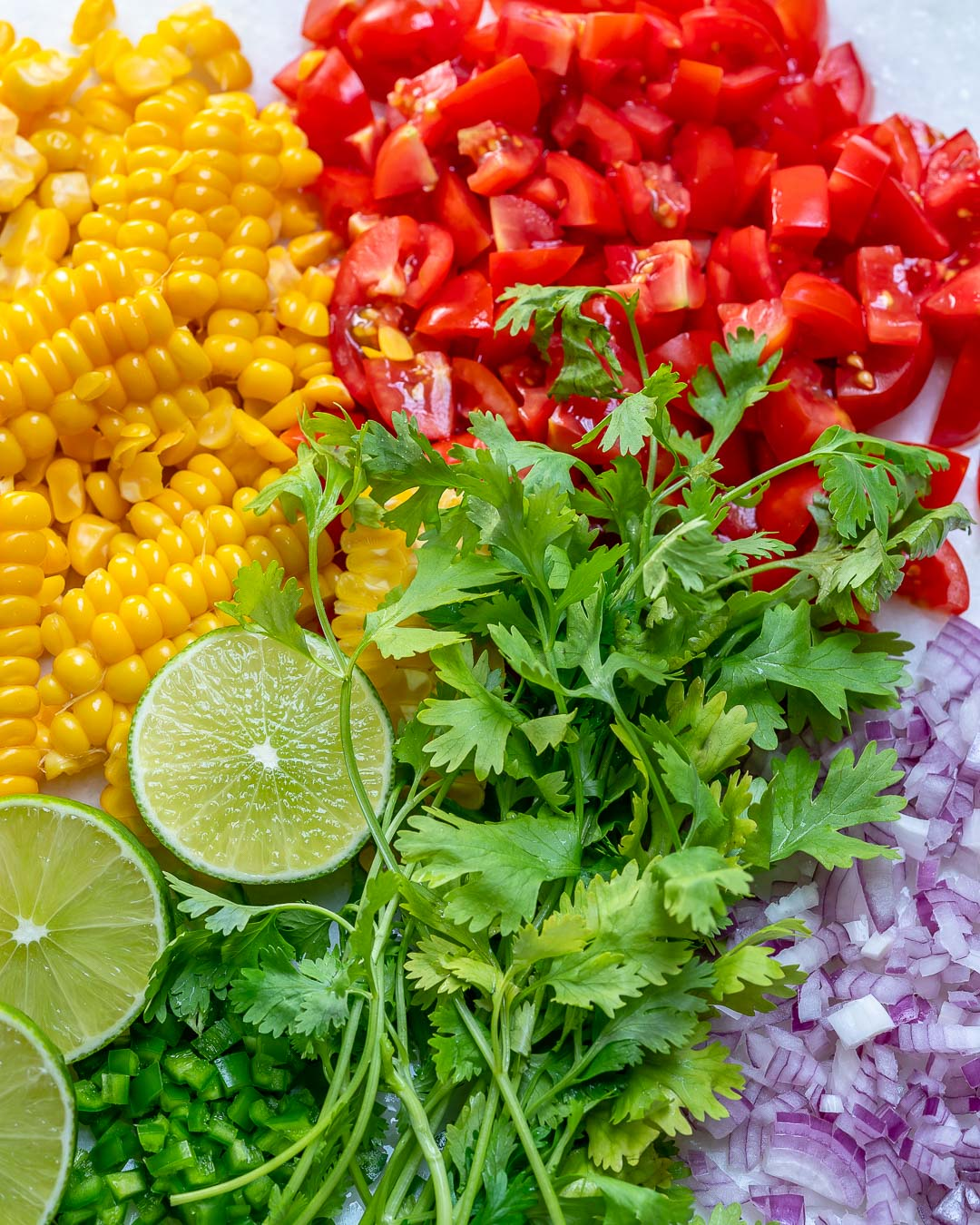 Ingredients Corn Salsa Fresca