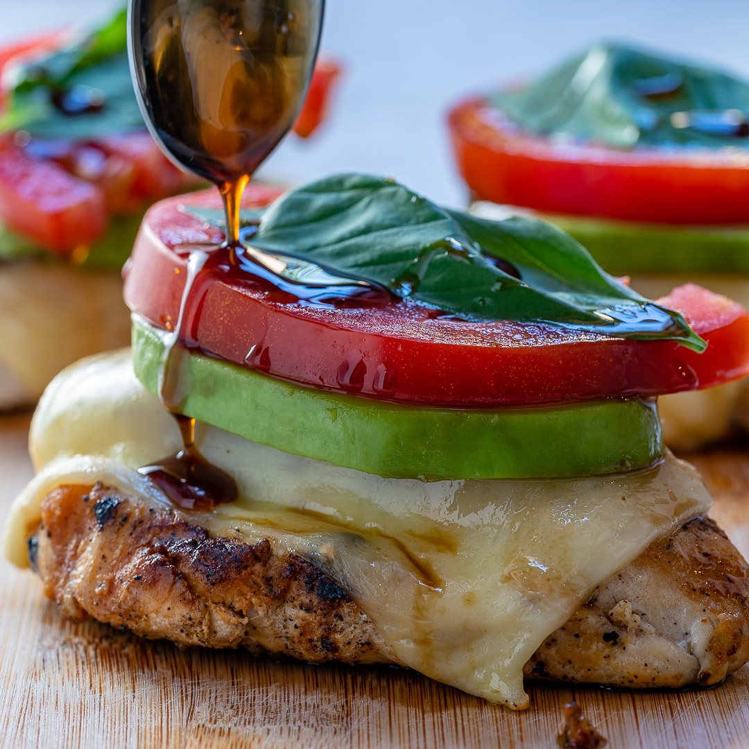 Melty California Grilled Avocado Chicken Clean Eats