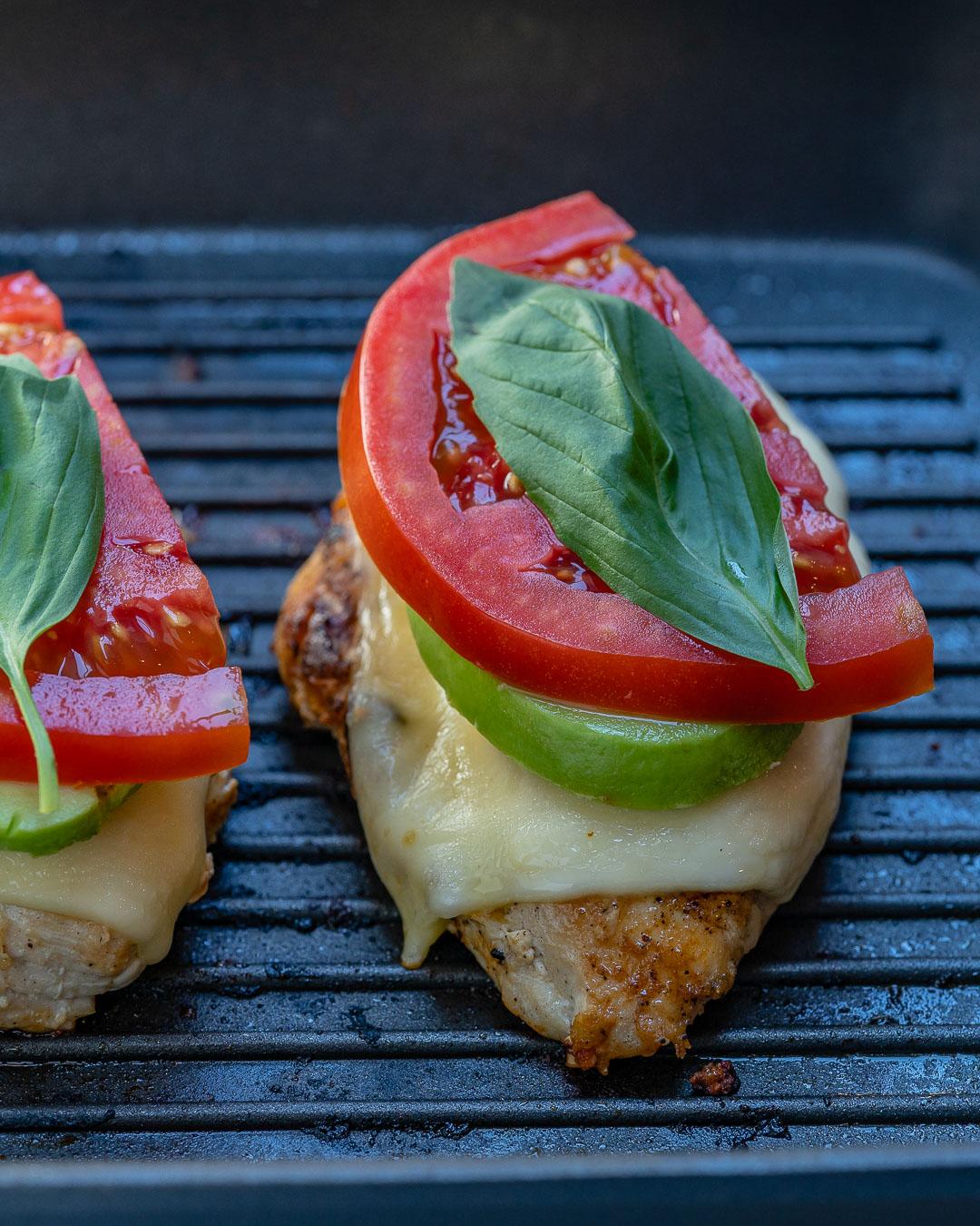 Melty California Grilled Avocado Chicken Recipe