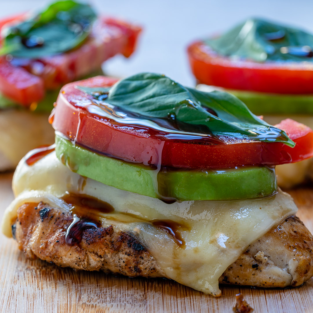 Grilled Cheese Avocado Chicken Clean Dinner
