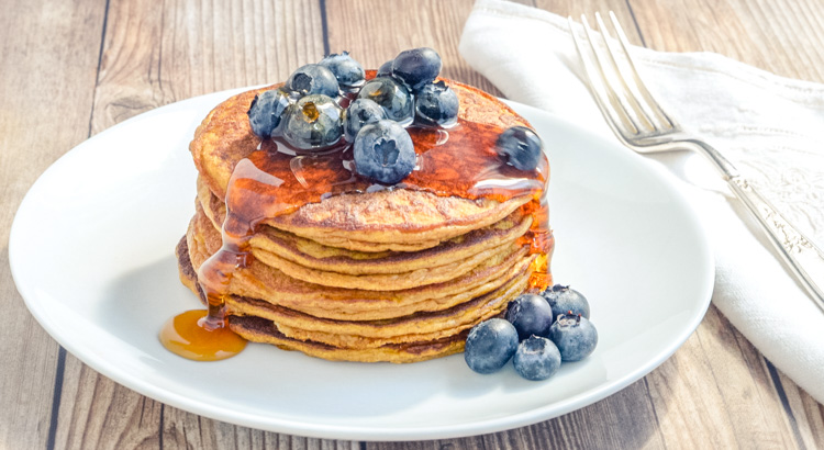 CleanFoodCrush Perfect Pumpkin Pancakes