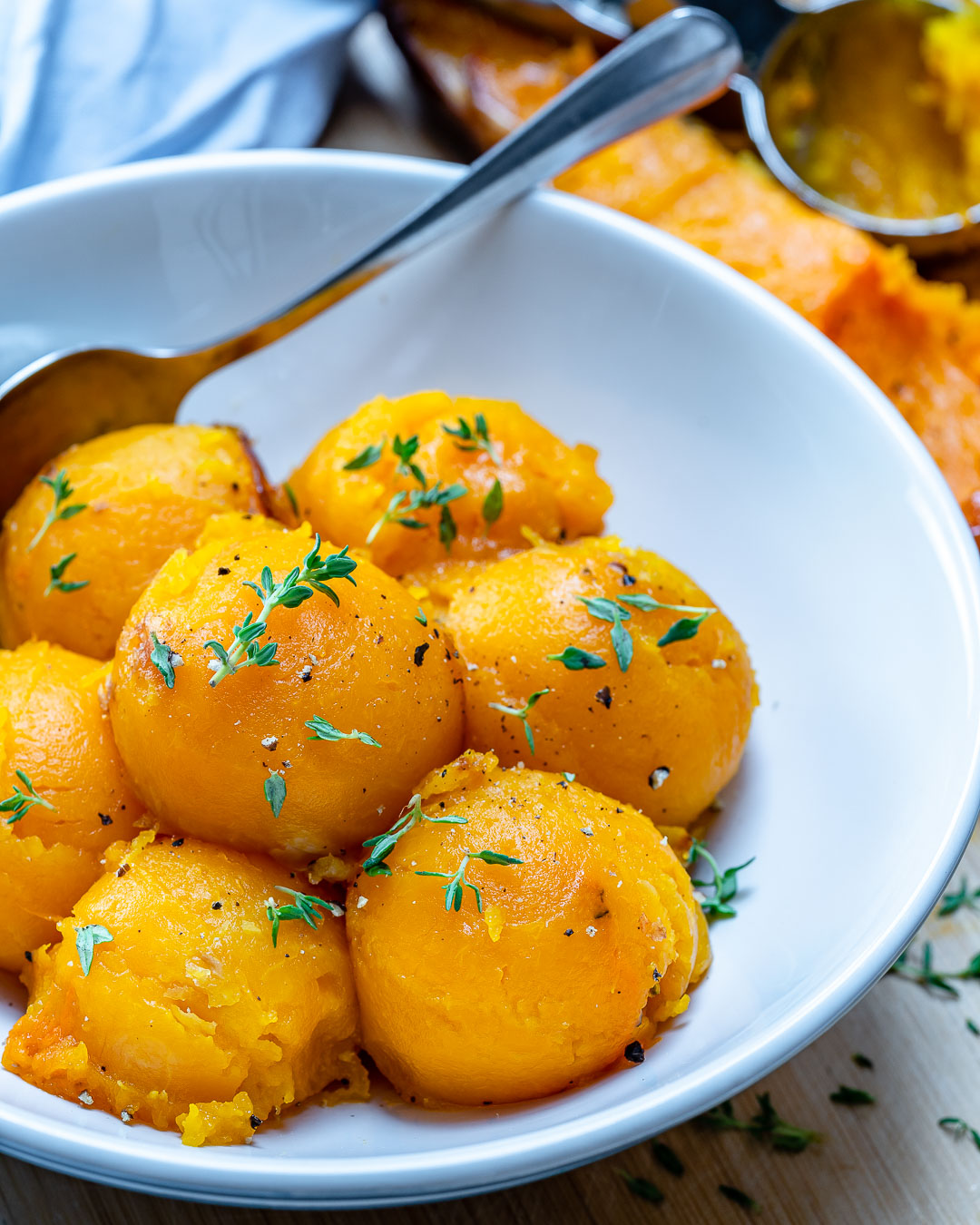CleanFoodCrush Roasted Butternut Squash Scoops Recipes