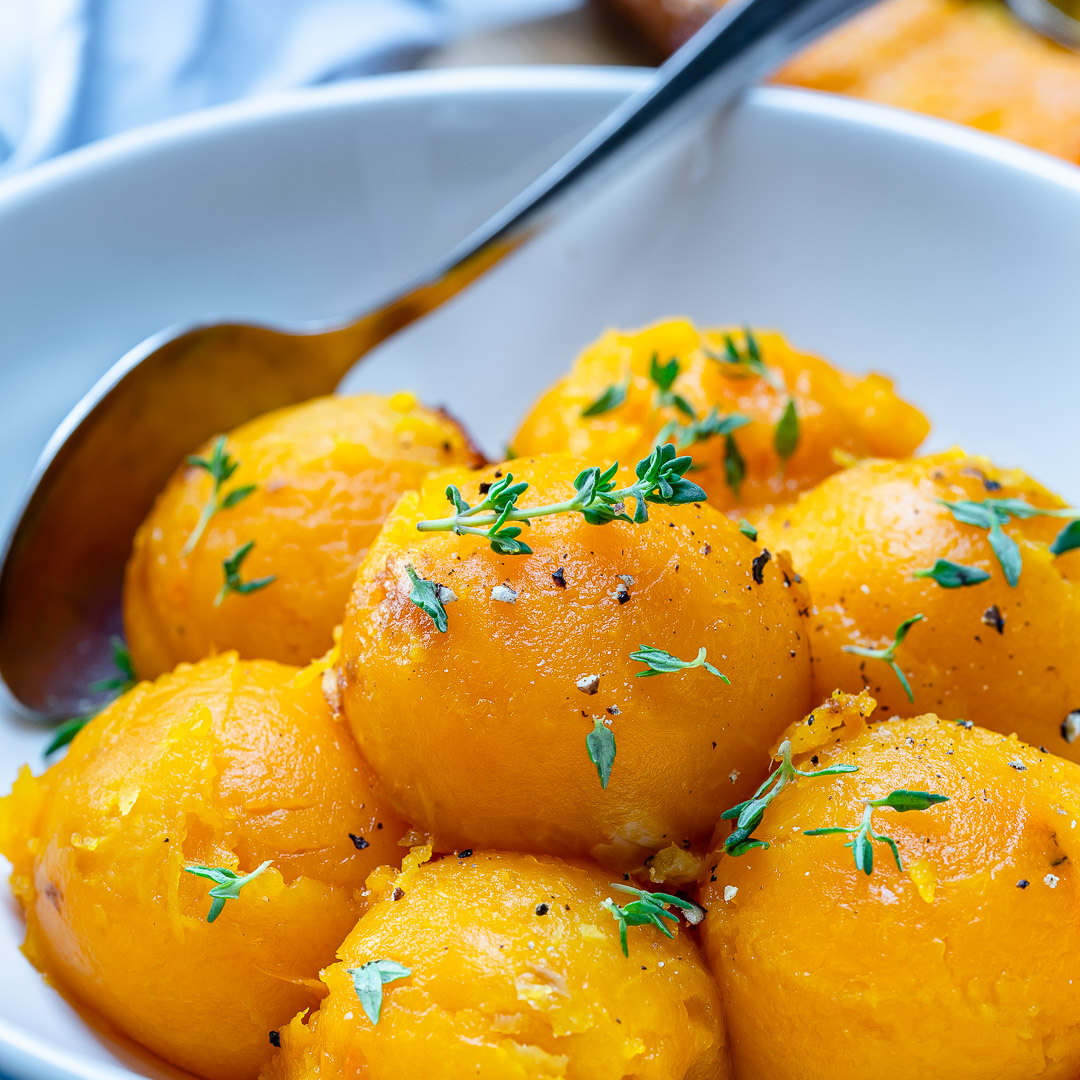 Rachel Masers Roasted Butternut Squash Scoops