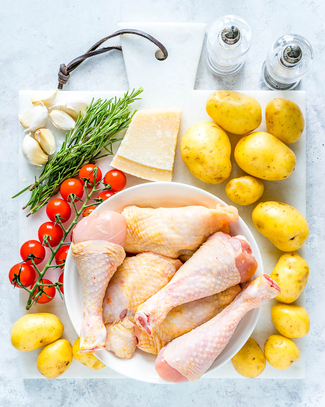 Slow Cooker Garlic Parmesan Chicken Ingredients