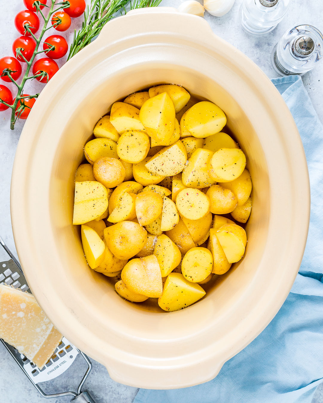Meal Prep New Potatoes Step 1