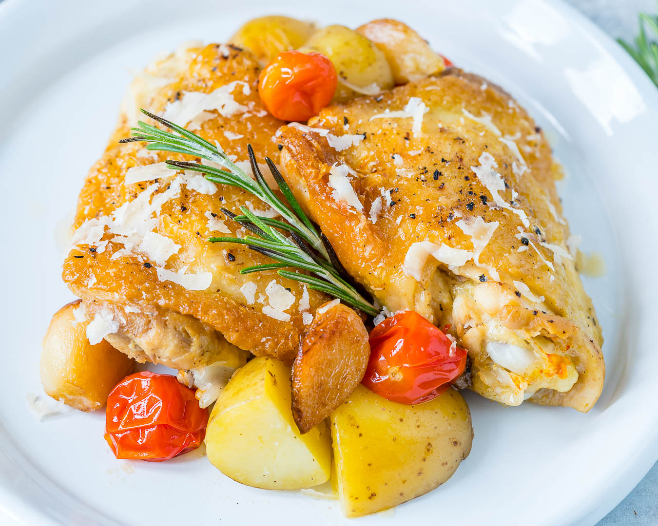 Garlic Parmesan Chicken New Potato Recipe