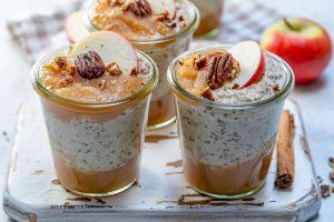 Apple Pie Overnight Oats by Rachel Maser
