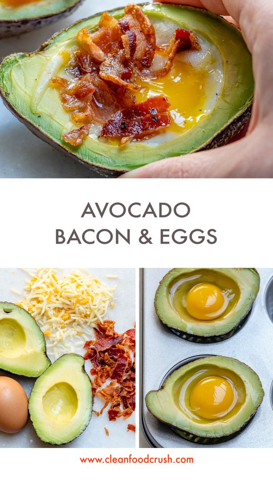 ClenFoodCrush Avocado Bacon Egg Breakfast Recipe