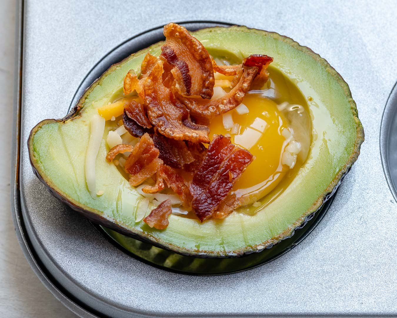 Avocado Bacon and Eggs Boats Clean Food