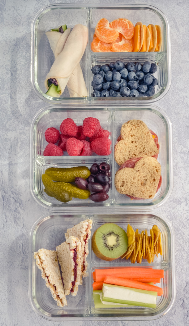 3 Healthy Bento Lunchboxes Foor Prep