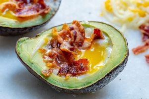 Bacon Egg Avocado Boats Clean Eating Recipe