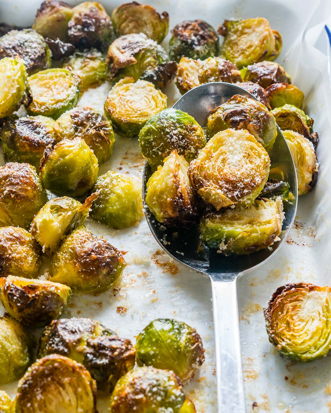 Clean Eats Roasted Brussels Sprouts