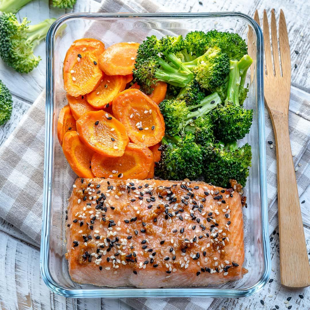 CleanFoodCrush Teriyaki Salmon Recipe