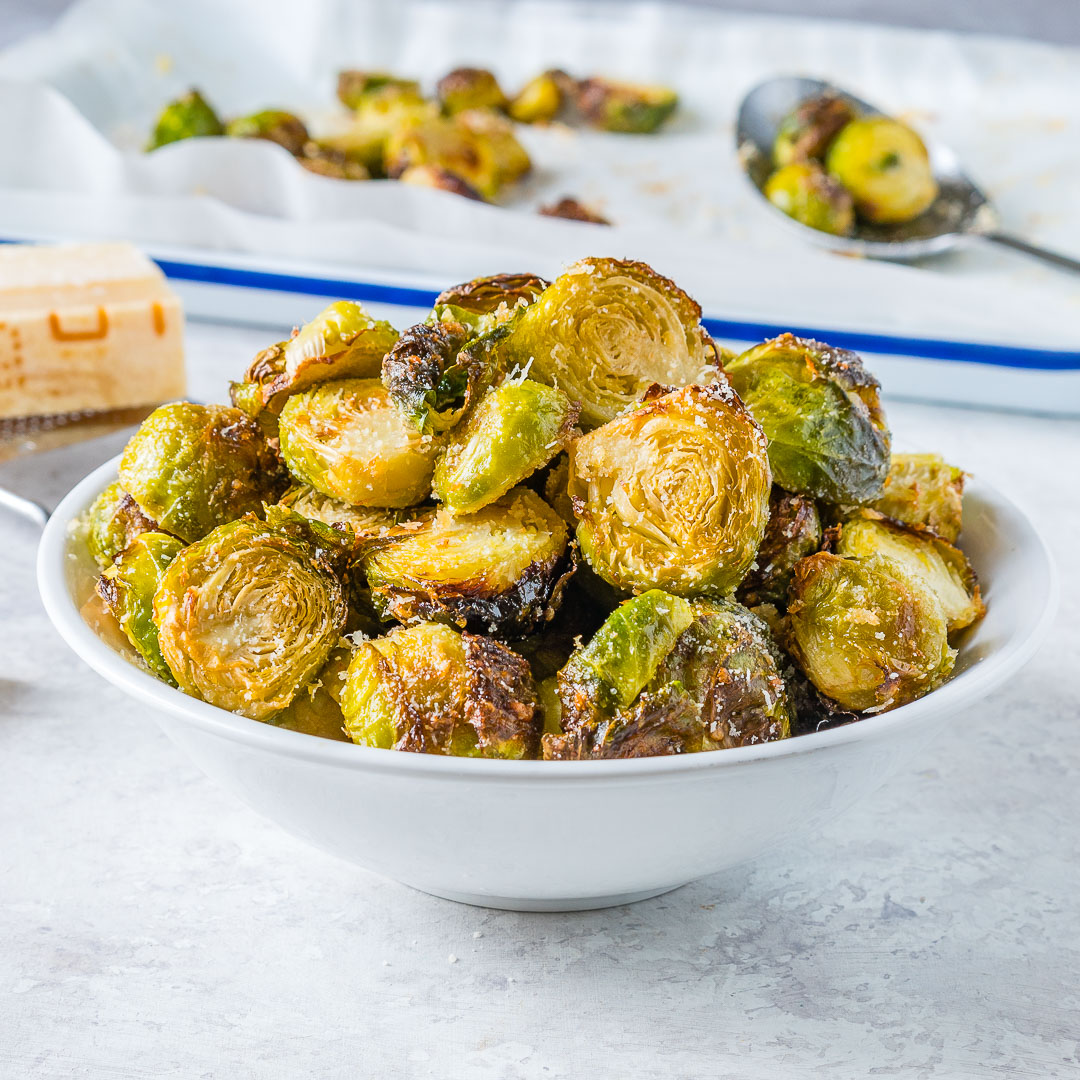 CleanFoodCrush Roasted Brussels Sprouts