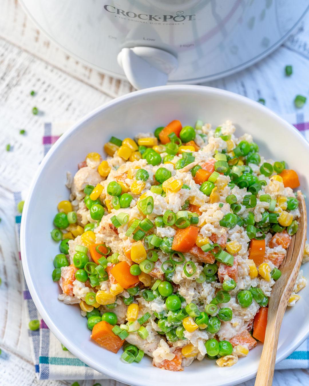 Steamy and Tasty Chicken Rice Dish