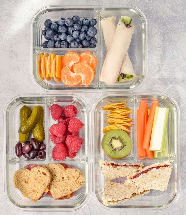 3 Ways Healthy Bento Lunchboxes