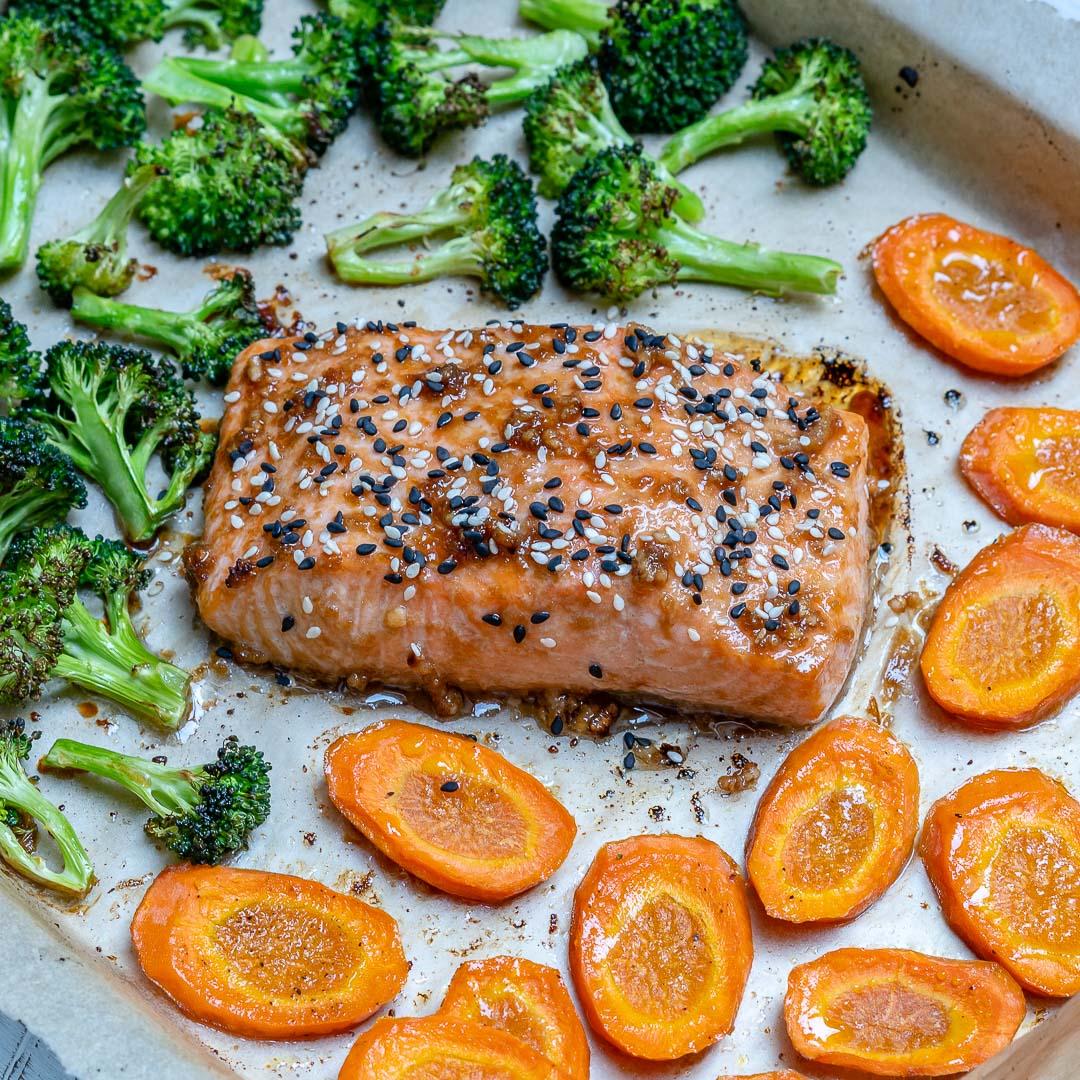Homemade Teriyaki Salmon Meal Prep