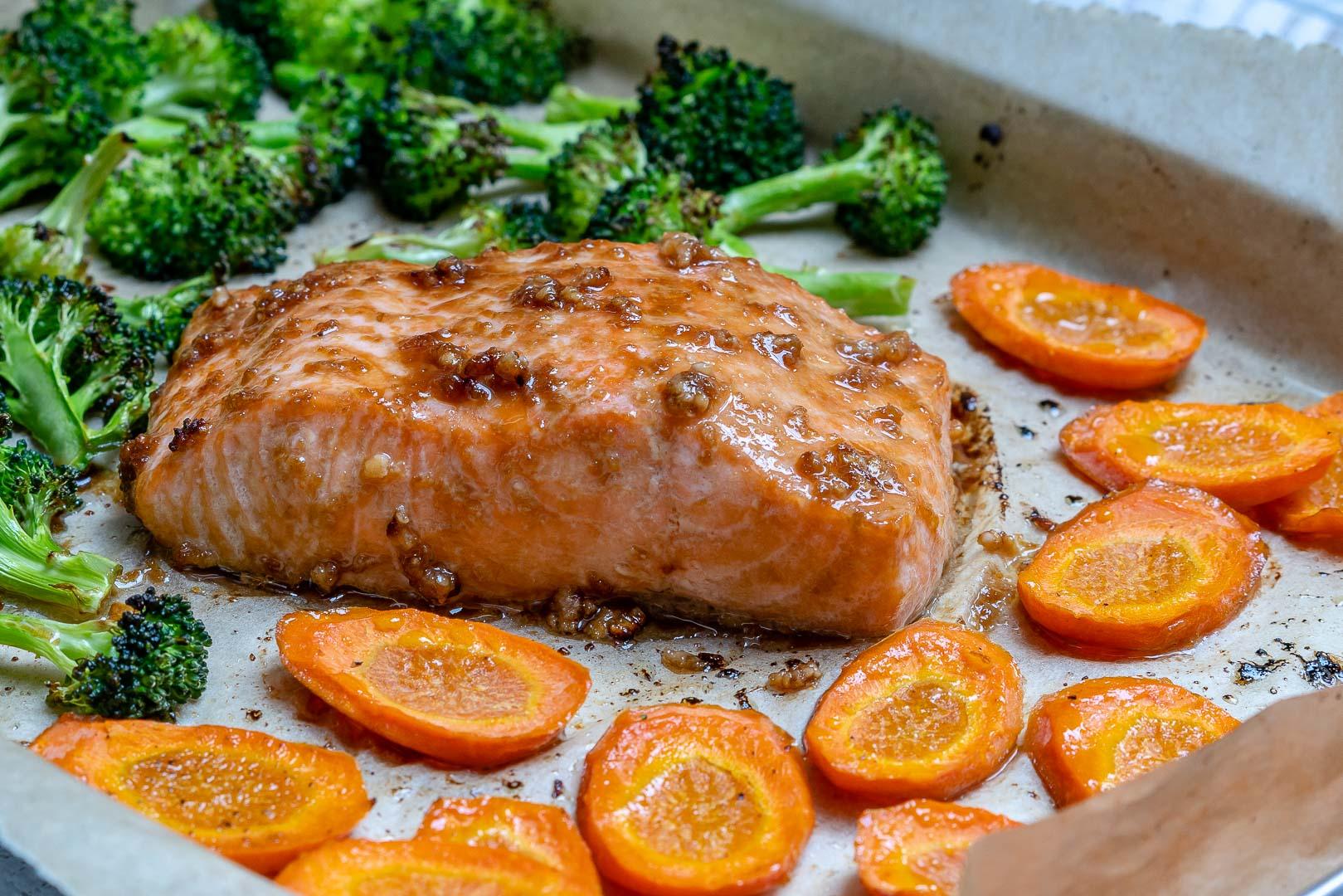 Teriyaki Salmon with Sesame Seeds