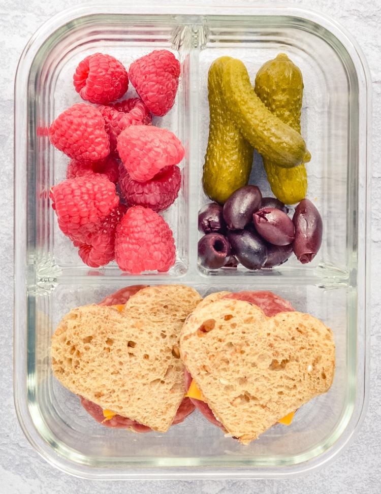 Heart Shaped Sandwiches Recipe