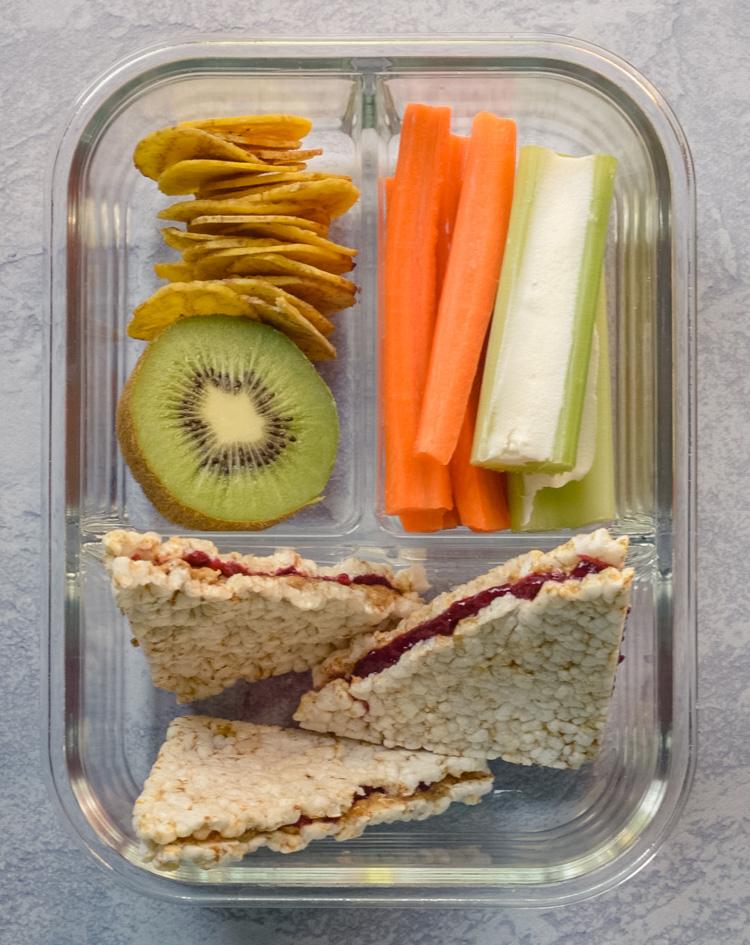 Vegan Eating Clean Bento Box