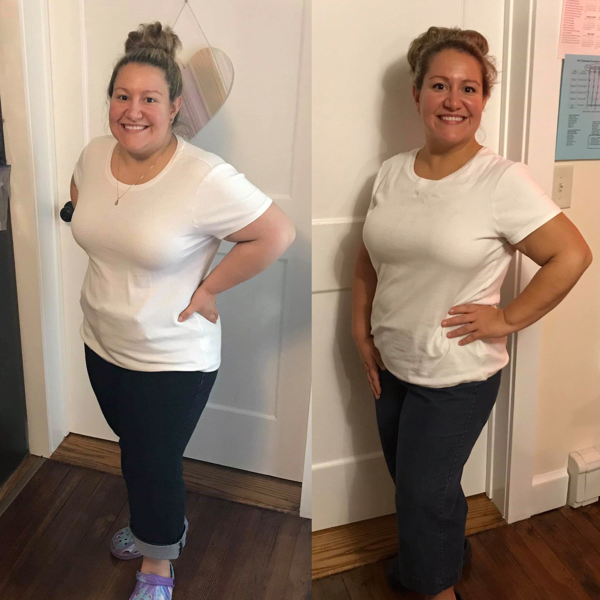 Michele Before and After CleanFoodCrush Challenge