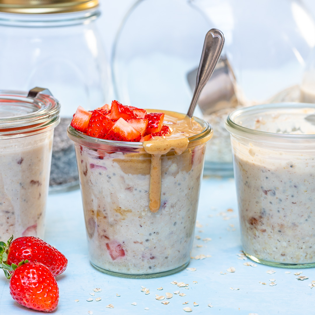PB and J Overnight Oats by Rachel Maser