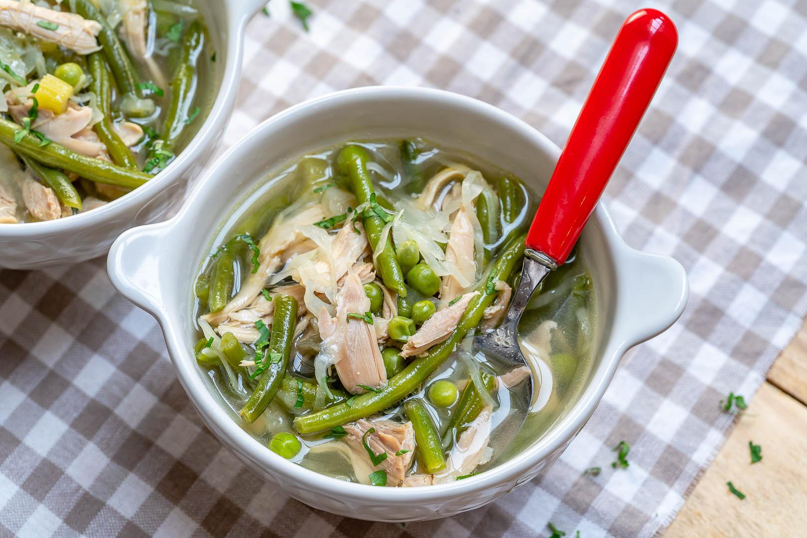 Cabbage Detox Chicken Soup Clean Recipe