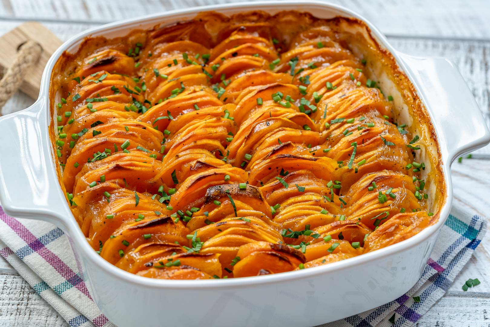 Clean Creamy Sweet Potato Bake