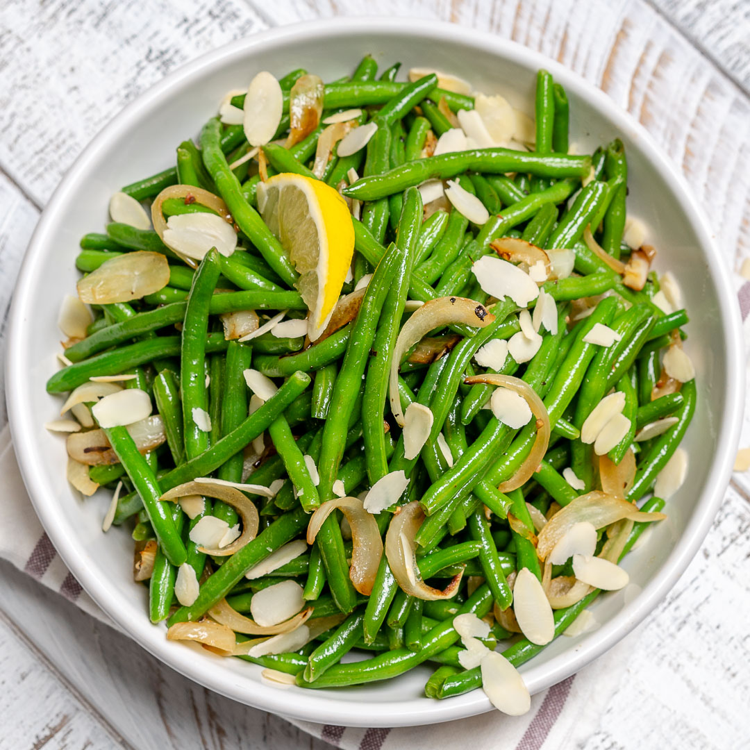 Clean Eating Lemony Sauteed Green Beans