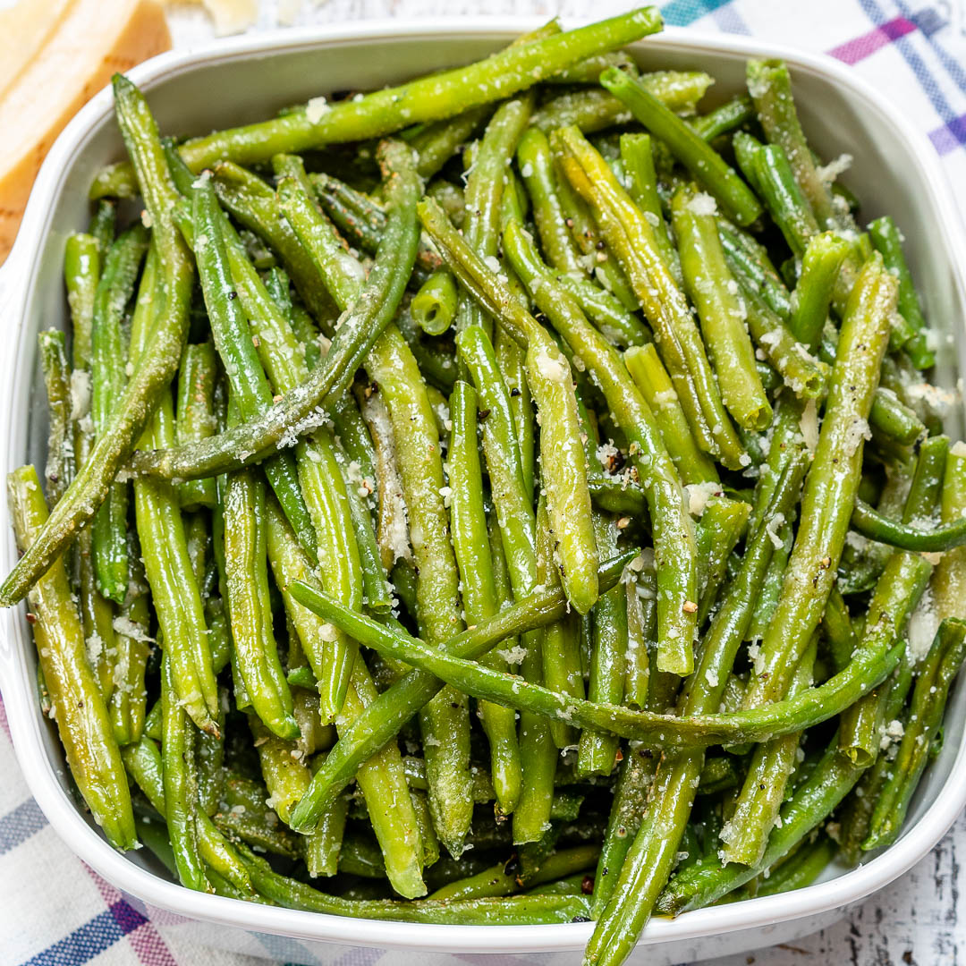 Side Dish Parmesan Roasted Green Beans